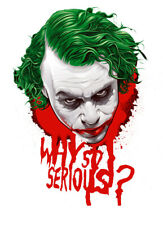 The Joker Why So Serious 3 6 Vinyl Decal Stickers