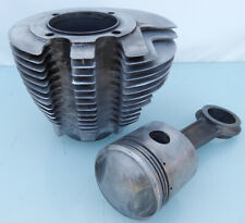 Matchless Ajs Motorcycle Competition Alloy Cylinder Barrel & Piston G80Cs 18Cs +