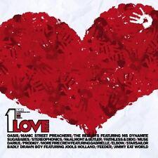 1 Love-NME & War Child pres. (2002) Starsailor, Feeder, Sugababes, Muse, .. [CD]