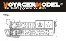 Voyager 1:35 Chinese PLA AFV Stenciling Template 1 (For All) PEA181*