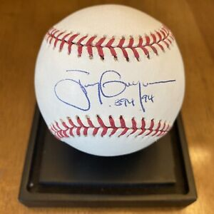 """Tony Gwynn """".394 94"""" Signed Autographed Official League Baseball Padres"""