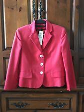 LAUREN RALPH LAUREN Red Blazer/Jacket Size 4  $230+Tax NWT