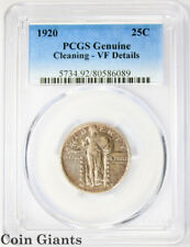 1920 Standing Liberty Quarter Dollar PCGS VF Key Date Very Fine SLQ 25c Coin