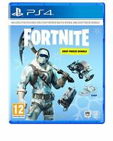 Fortnite Deep Freeze Bundle Sony PS4 Playstation 4 **BRAND NEW & SEALED!!**