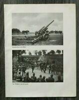 AQ) Blatt 2.WK 1940 Artillerie Geschütz Fort Przemysl Flüchtlinge Gefangene WWII
