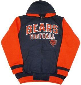 G-III Sports Chicago Bears Men's Extra Point Full Zip Hooded Sweatshirt