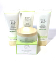 MARY KAY SATIN BODY WHITE TEA & CITRUS~YOU CHOOSE~SCRUB, WASH, LOTION, CREME!