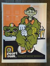 PEARL JAM POSTER 2003 TOUR AMES BROS PITTSBURGH PHILLY STATE COLLEGE VEDDER