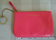 VICTORIA'S SECRET SUPER CUTE NEON PINK MINI BAG makeup,lipstick,perfume