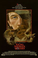 YOUNG SHERLOCK HOLMES (1985) ORIGINAL MOVIE POSTER  -  ROLLED