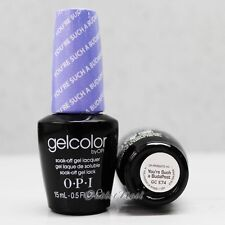 OPI GelColor Euro Central GC E74 YOU'RE SUCH A BUDAPEST 15mL UV Gel Purple Color