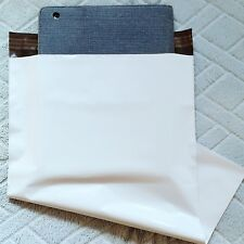 100 12x16 white poly mailer bag 2.5MIL*best quality *pure plastic material made*