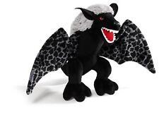 NICI 38357 - Créature Avec Dent - Debout, Animal en Peluche, 22 CM, Noir