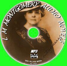 8 Clásico LM Montgomery audiolibro NOVELAS MP3 DVD NUEVO ANNE SHIRLEY