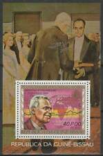 Nobelprijs Winnaars postfris Guine Bissau 1977 MNH block 60 - Tinbergen (S2077)