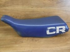 1983-83 Honda CR80 CR 80 CR80R Seat Saddle Foam Pan Cover OEM Stock Factory