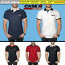 Case IH Agriculture Polo T Shirt COTTON EMBROIDERED Tractor Logo Mens Clothes