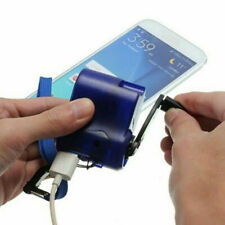 Emergency Hand-Cranking Dynamo Electric Generator USB Charger Mobile Phone MP4