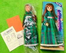 70's Mint in Box Factory Wrapped Vtg Ideal Look Around Crissy Doll With Papers
