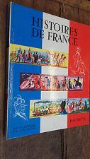Histoires de France Marcelin Traverse  - Reschofsky   Encyclopédie en couleurs