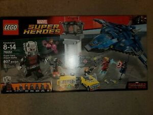 Lego Marvel Super Hero Airport Battle (76051) New in box great condition