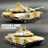 RUSSIAN T-90MS 1/72 NON DIECAST MODEL FINISHED TANK MODEL COLLECT
