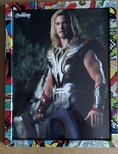 Marvel Frame with Avengers Thor picture 33x43 a (inside 30x40)
