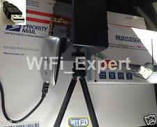 WiFi Antenna  MACH 2B ALFA G SINGLE Biquad Booster Long Range GET FREE INTERNET