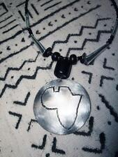 recycled boho ethnic tribal Africa jnca5 African Cooking Pot Pan Necklace new