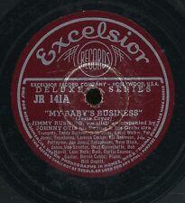 pc78-R&B-Excelsior 141-Johnny Otis w/ Jimmy Rushing