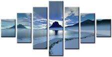 Sundown 7p 160x90cm GRANDE wall art canvas print OPERA D'ARTE CASA SALOTTO