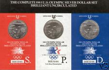 U.S.A. Serie Completa Dolar @@ Olimpiada Los Angeles @@ 6 valores @@