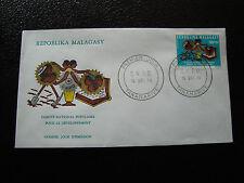 MADAGASCAR - enveloppe 16/12/74 - developpement - yt n° 554 - (cy7)