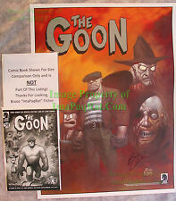 The Goon Wicked Inclinations POSTER signed Eric Powell 18 x 24 NO Pin Holes