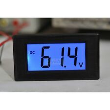 DC 16-70v Digital LED Panel Volt Voltage Meter Voltmeter F/ 24v 36 48v e-bike