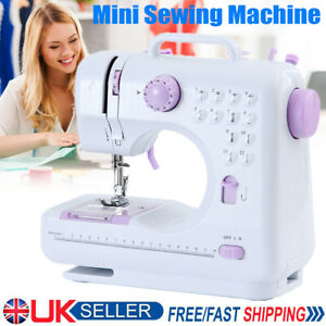 Electric Sewing Machine Portable Sewing 2 Speed LED 12 Stitches Tailor Home DIY