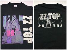 Vintage Mens L 1994 90s Zz Top Antenna Rock Album Concert Tour Black T-Shirt