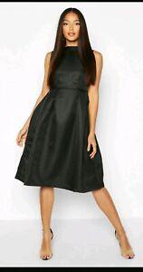 Boohoo Boutique High Neck Prom DressBlack Size 10