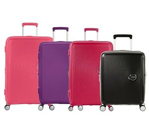 American Tourister Soundbox 4 Wheel Expandable Suitcase - Cabin - Medium - Large