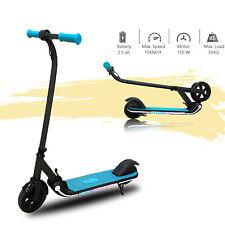 E Scooter Kinder ElektroRoller Klappbar 150W Cityroller Kickroller mit LED Licht