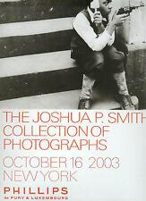 Phillips /// Joshua Smith Photograph Collection Post Auction Catalog 2003