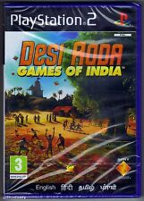 Ps2 Desi Adda Games of India UK PAL & Sony Factory
