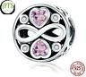 Charm Anhänger Infinity Unendlichkeit Herz Liebe 925 Sterlingsilber Pandora Art