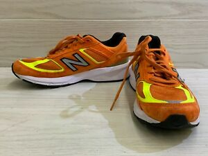New Balance 990 M990OH5 Running Shoe - Men's Size 9.5 D, Orange