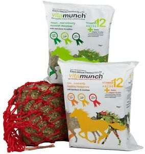 Equilibrium VITAMUNCH Healthy Horse Treat Supplement HEDGEROW MEADOW 5x1kg Block