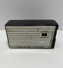 VTG 1959 1960s DELMONICO INTERNATIONAL 6 Transistor TRS-6 AM RADIO Japan WORKS!