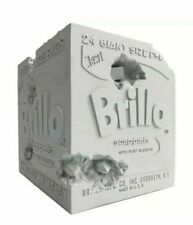 Daniel Arsham x Andy Warhol Brillo Box Blue Edition