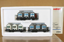 MARKLIN MäRKLIN 47896 DB SET HENKEL HOPPER FREIGHT WAGON MINT BOXED nj