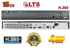 LTS DVR 1080p LTD8316K-ET 16CH H.265 16 Channel HD-TVI Hybrid 3Years Warranty