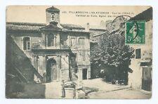 CPA-30 VILLENEUVE LES AVIGNONS - Cour intérieure de l Hôtel du Cardinal de turin